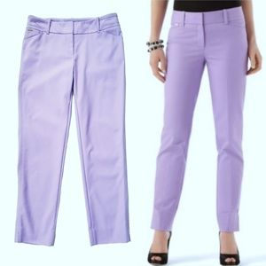 WHBM STRETCH SLIM ANKLE PANTS